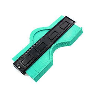 Измеритель контура WolfCraft 25cm Green ABS шаблон контур для копирования изгибов и форм ламината