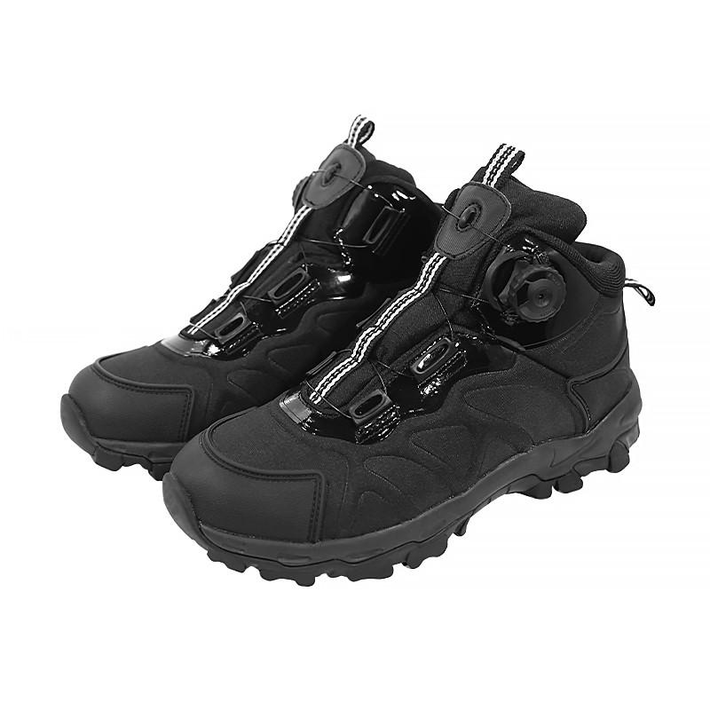 Ботинки тактические Lesko 661 Black 40 с автоматической пряжкой демисезонные
