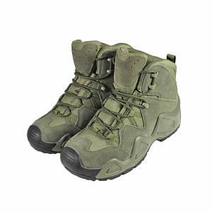 Черевики тактичні Lesko 998 Green 42 військова тактична армійська