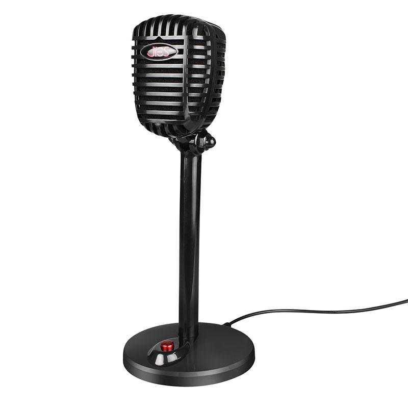Мікрофон для ПК HBKS JIES F13 Black USB провідний для ігор комп'ютерний для голосового чату
