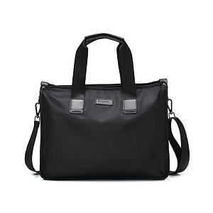 Мужская сумка на плечо Dxyizu 343 Black повседневная тканевая модная