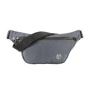 Мужская сумка-мессенджер Mazzy Star MS-WA109 Dark Gray брендовая через плечо