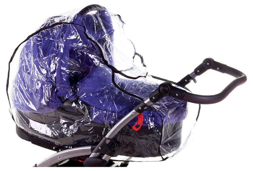Дощовик для універсальної коляски Qvatro DQB-2 силікон, великий