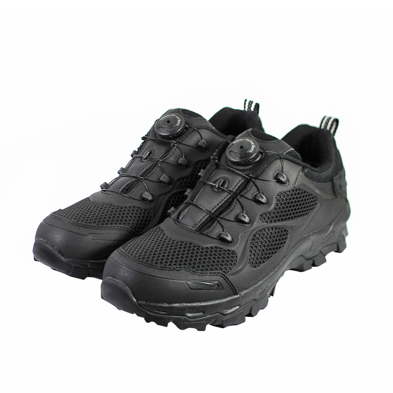 Кросівки тактичні Lesko C206 Black 45 з автошнуровкой армійські мілітарі