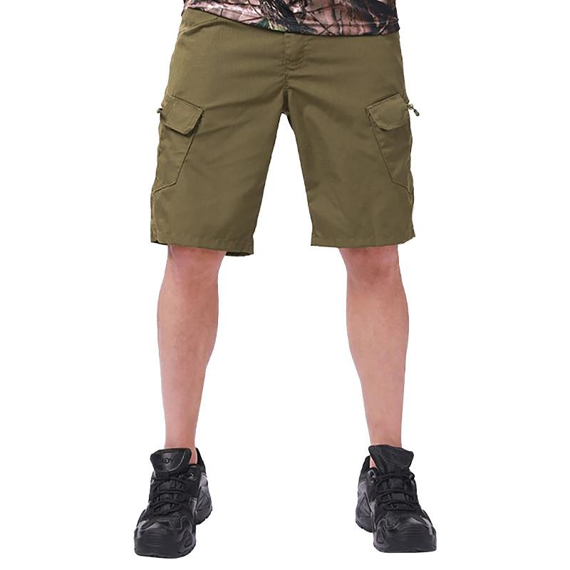 Тактические мужские шорты Lesko IX-7 Khaki размер 2XL армейские форменные