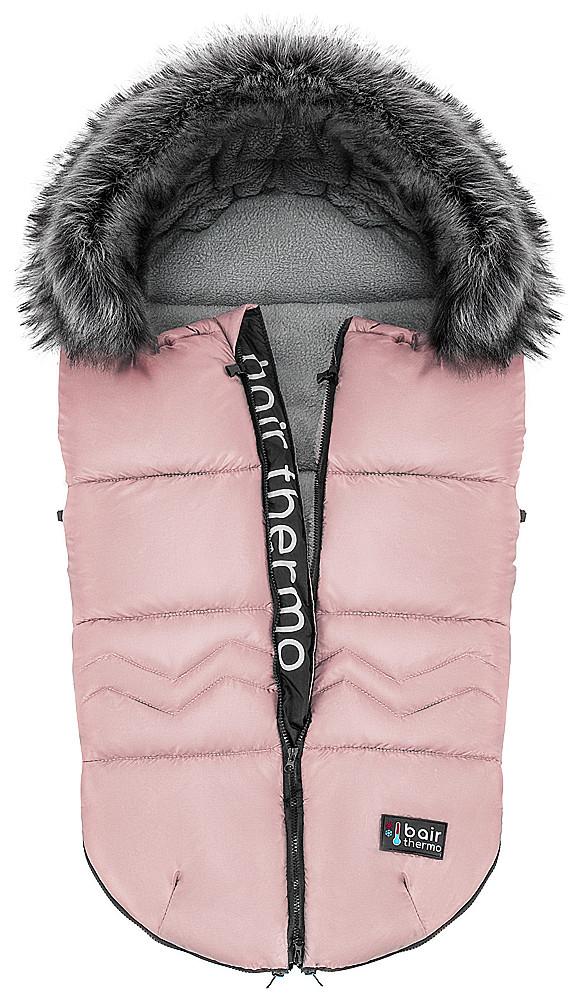 Зимовий конверт Bair Alaska Thermo рожевий (пудра)