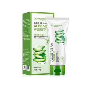 Пенка для умывания с экстрактом алое вера BIOAQUA Aloe Vera 92% Cleanser 100г Оригинал Биоаква