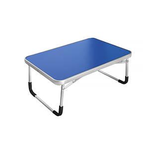 Складаний столик Lesko LY-005 Blue підставка для ноутбука 60*40 см