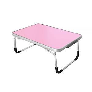 Складаний столик-підставка Lesko LY-005 Pink для ноутбука 70*50 см