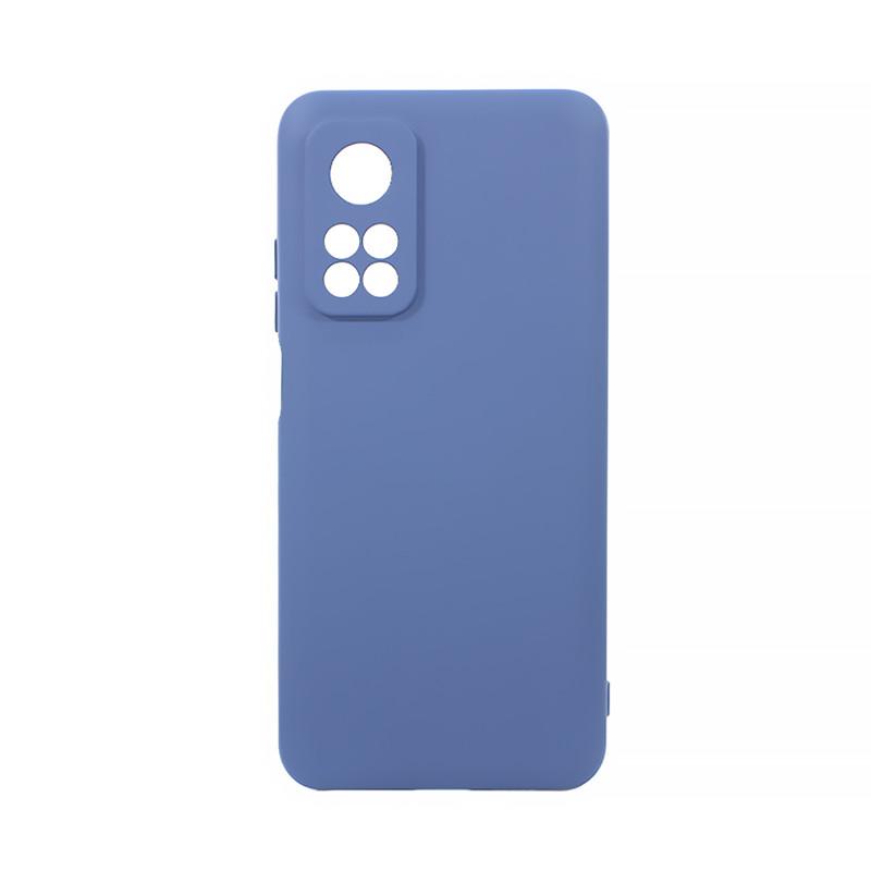 Защитный силиконовый чехол Lesko для Xiaomi Mi 10T Dark Blue Soft Touch