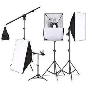 Набор постоянного студийного света Tianrui A006 для фото и видеосъемки 3 шт.