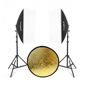 Набір постійного студійного світла Tianrui A060 TD-72 LED для фото і відеозйомки 2шт.