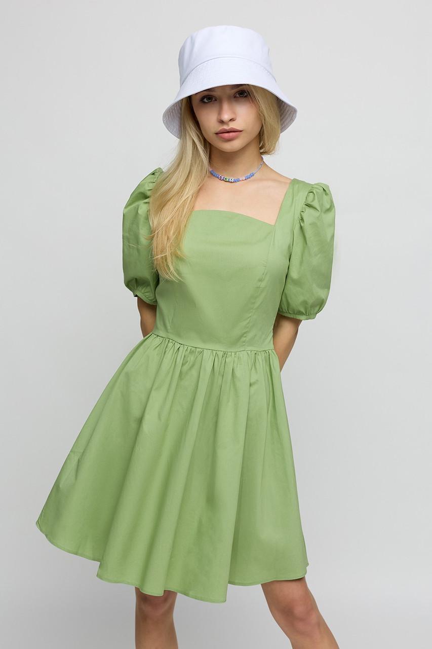 Оригінальне коротке літнє жіноча сукня бавовняне