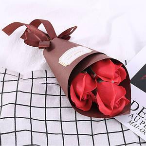 Розы из мыла Lesko L-4136 Red букет подарочный
