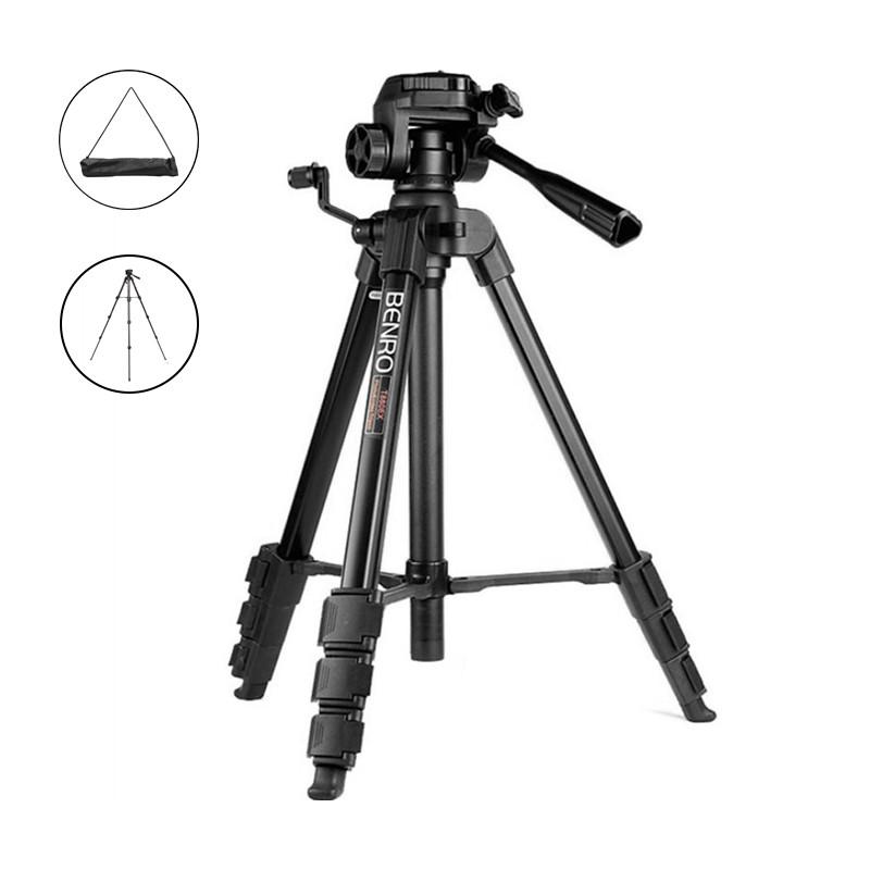 Универсальный алюминиевый штатив BENRO T880EX напольный трипод тренога для фото и видеосъемки