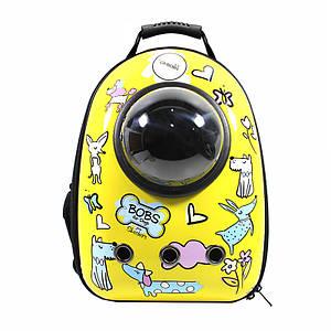 Рюкзак-переноска для кошек Taotaopets Window Dogs кошек собак с иллюминатором