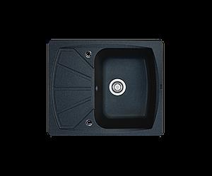 Кухонна мийка гранітна Borgio PRT-610x500 чорний