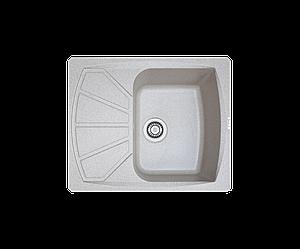 Кухонна мийка гранітна Borgio PRT-610x500 мігдаль