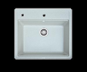 Кухонна мийка гранітна Borgio Q-570x510 сірий камінь