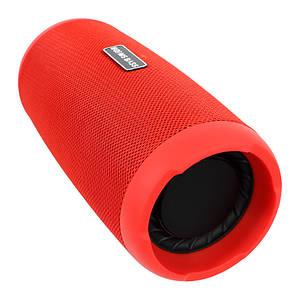 Портативна колонка Booms Bass L12 Red Блютуз 5.0 потужність 10 Вт Батарея 1200 маг