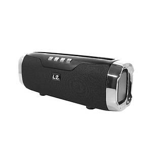 Портативна колонка LZ E22 Black Bluetooth функція гучного зв'язку
