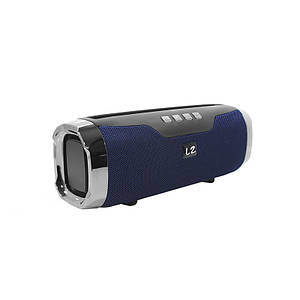 Портативна колонка LZ E22 Blue Bluetooth функція гучного зв'язку
