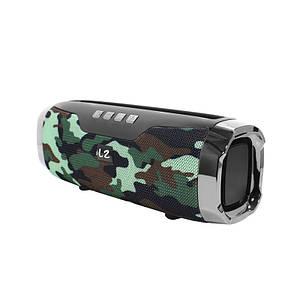 Портативна колонка LZ E22 Camouflage Bluetooth функція гучного зв'язку