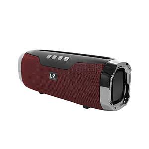 Портативна колонка LZ E22 Red Bluetooth функція гучного зв'язку