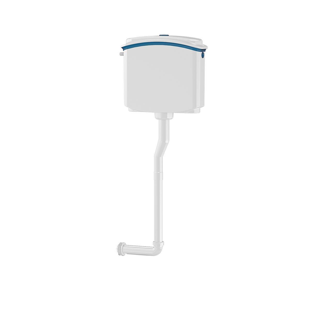 Сливной бачок для унитаза с кнопочным механизмом спуска воды (NOVA 4094, 4090)