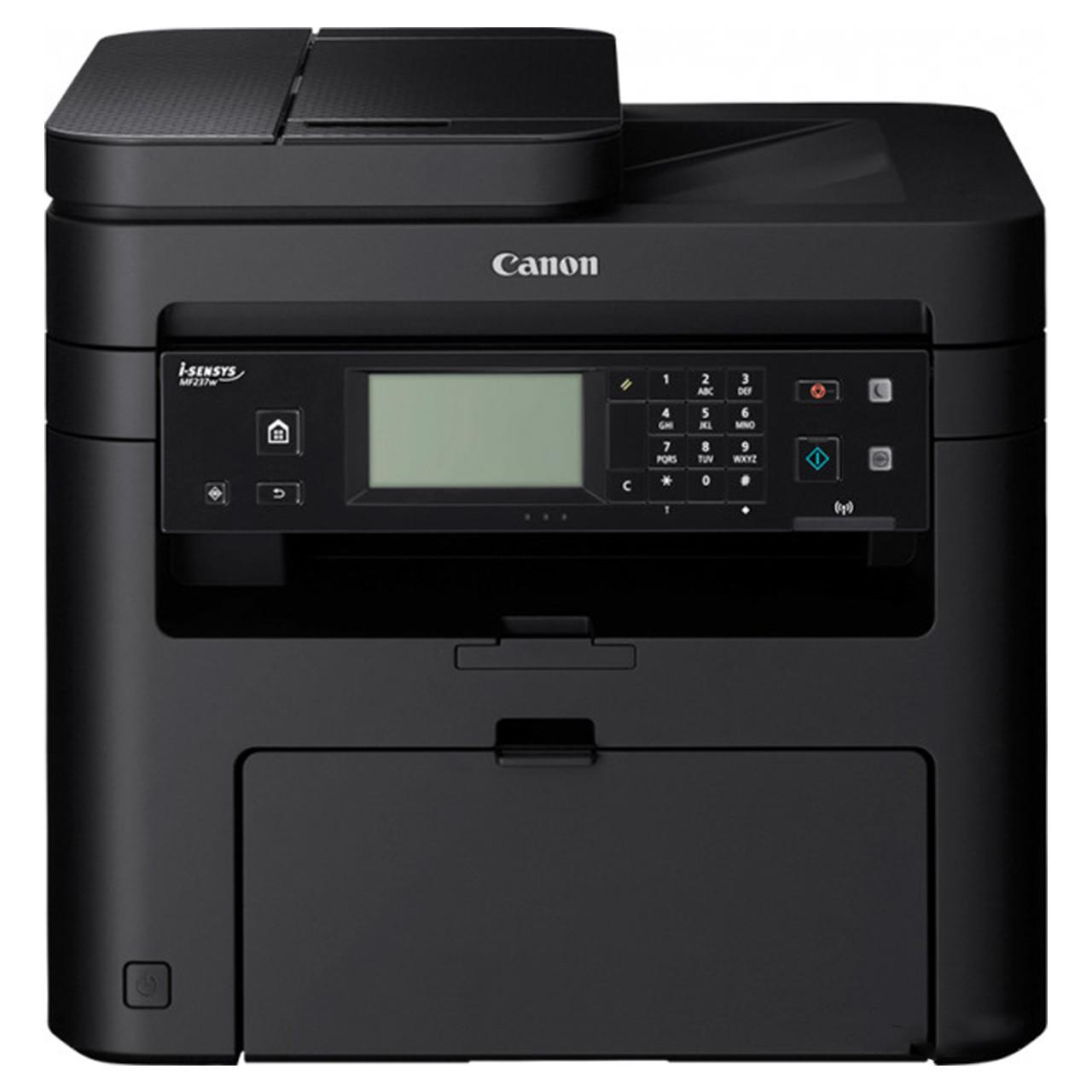 БФП CANON i-SENSYS MF237w c Wi-Fi (1418C122) лазерний друк чорно-біла принтер сканер вбудований факс
