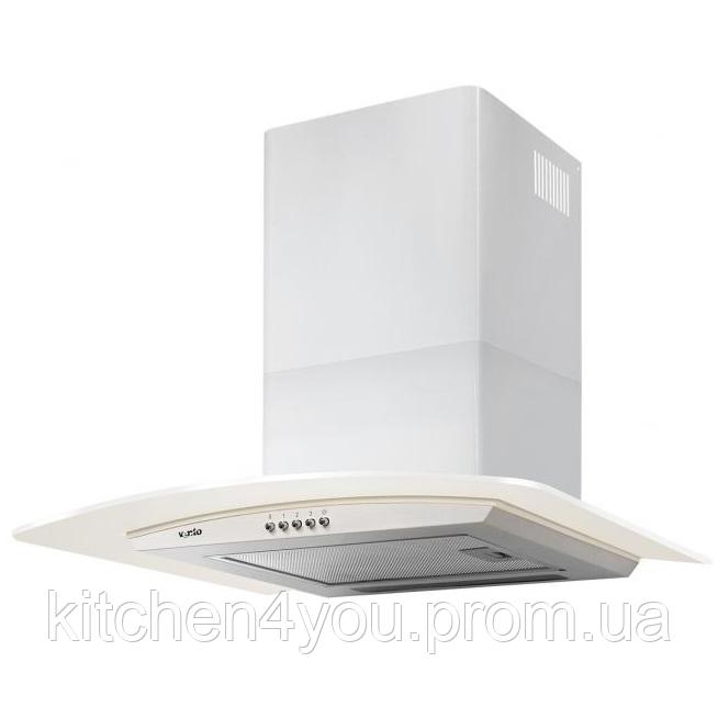Ventolux Venezia 60 WH (700) K декоративна кухонна витяжка, біла емаль