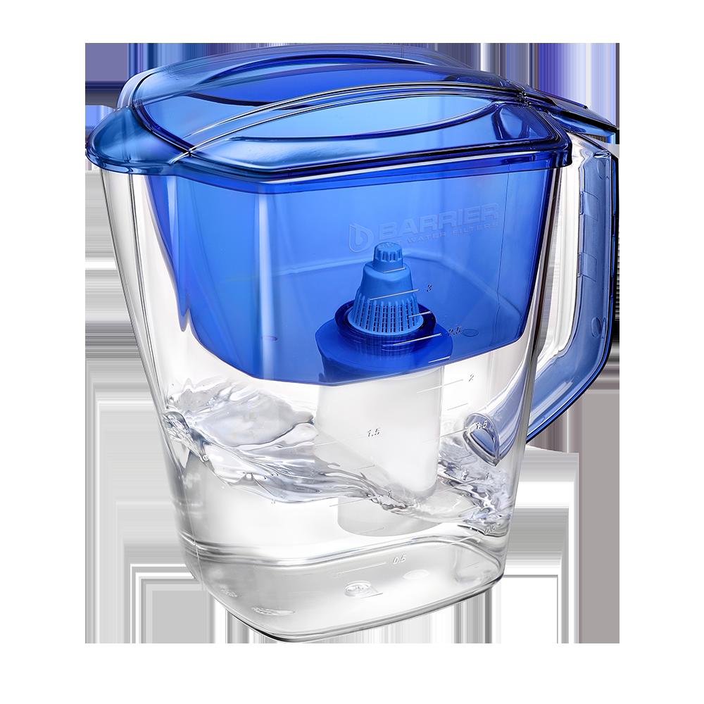 Фільтр-глечик Барьер Гранд (4 літри) синій (індиго)