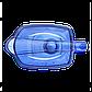 Фільтр-глечик Барьер Гранд (4 літри) синій (індиго), фото 4