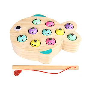 Деревянная развивающая игра BLLN-3041 Рыбалка детская
