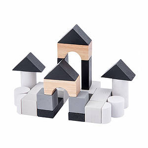Деревянная развивающая игра BOX Lesko Замок 5124 для детей