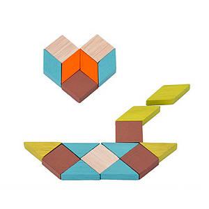 Дерев'яна розвиваюча гра BOX Lesko Мозаїка 5125 для дітей