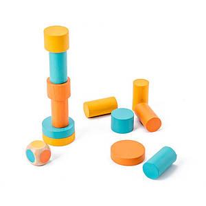 Дерев'яна розвиваюча гра BOX Lesko Фігурки 5122 для дітей