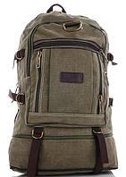 Туристичний рюкзак 0108 khaki Купити рюкзаки для походу недорого Рюкзак для туризму