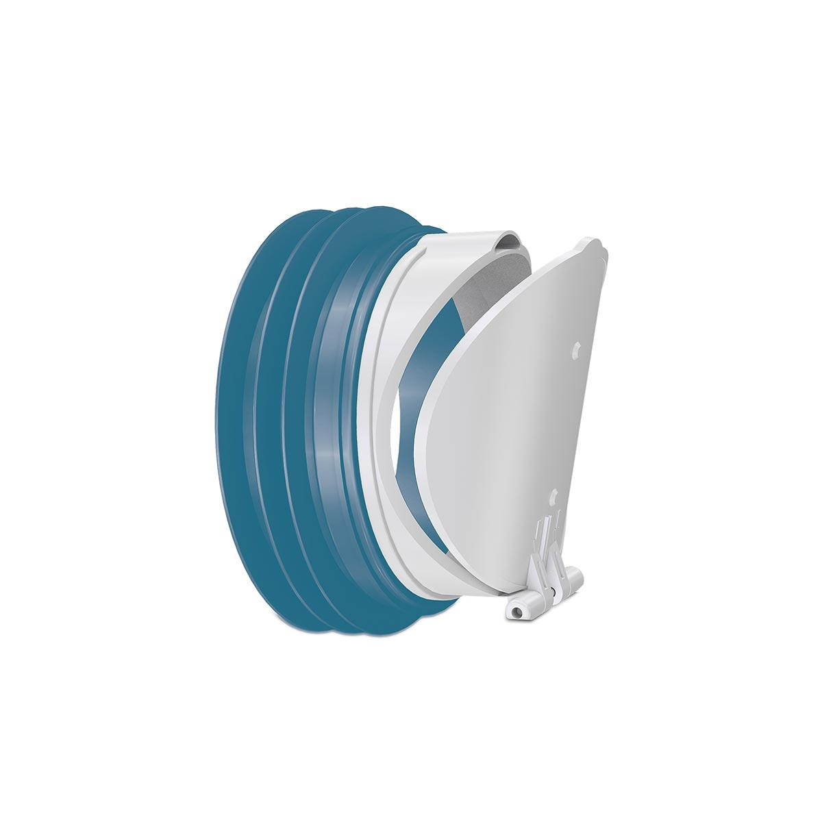 Клапан зворотного ходу для каналізаційної труби діаметр 100 мм (NOVA 7171)