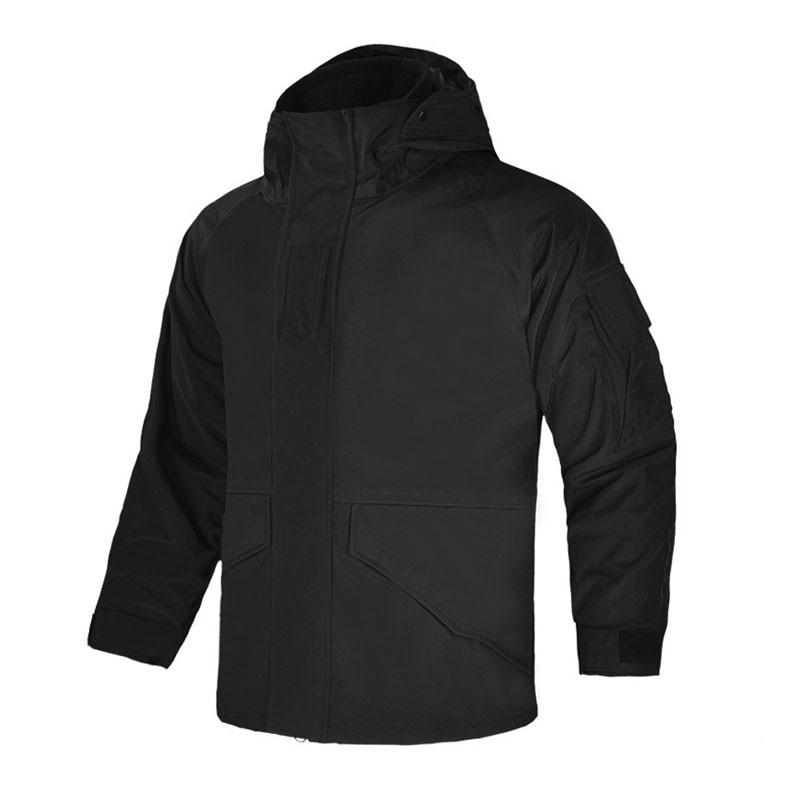 Тактична куртка Han-Wild G8M G8CFYLJT M Black Soft Shell для військових армійська