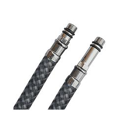 Шланги для змішувача нейлонові антикорозійні SmartFlex М10 80 см (пара)