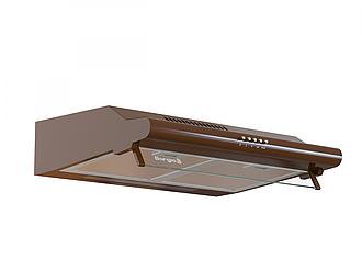 Кухонна витяжка Borgio BHW плоска 500 мм (п'ять кольорів) Коричневий