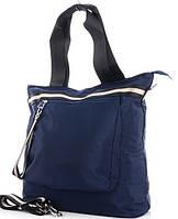 Жіноча тканинна сумка 00112 blue Тканинні сумки недорого Текстильні сумки купити недорого