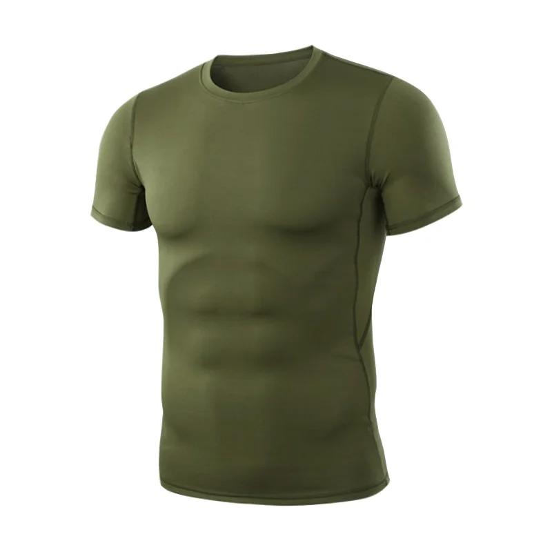 Чоловіча тактична футболка Lesko A159 Green з коротким рукавом розмір M