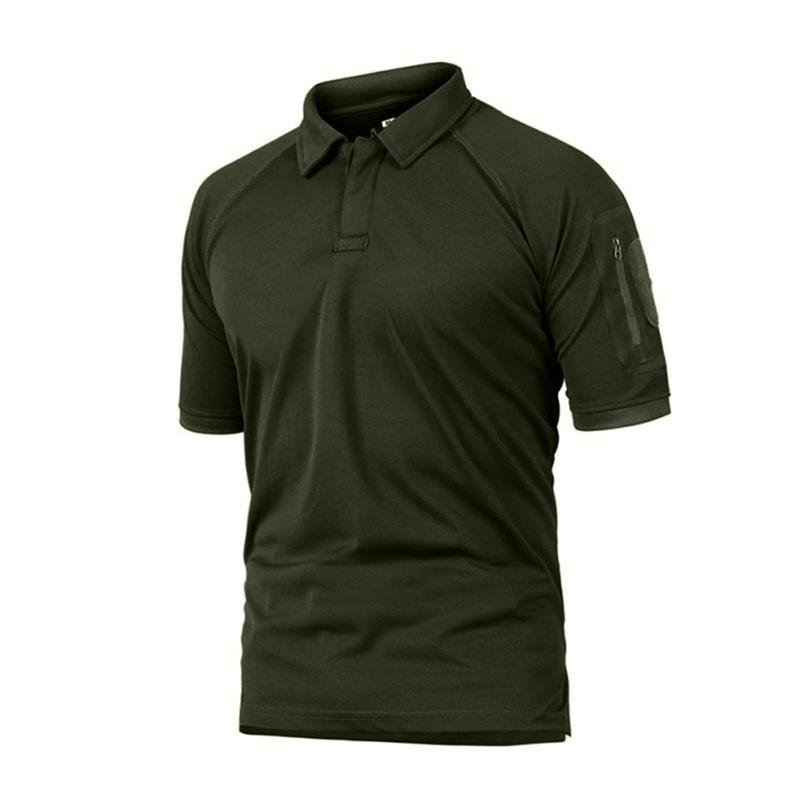Тактическая футболка Pave Hawk PLY-YH09 Green M с коротким рукавом однотонная военная армейская