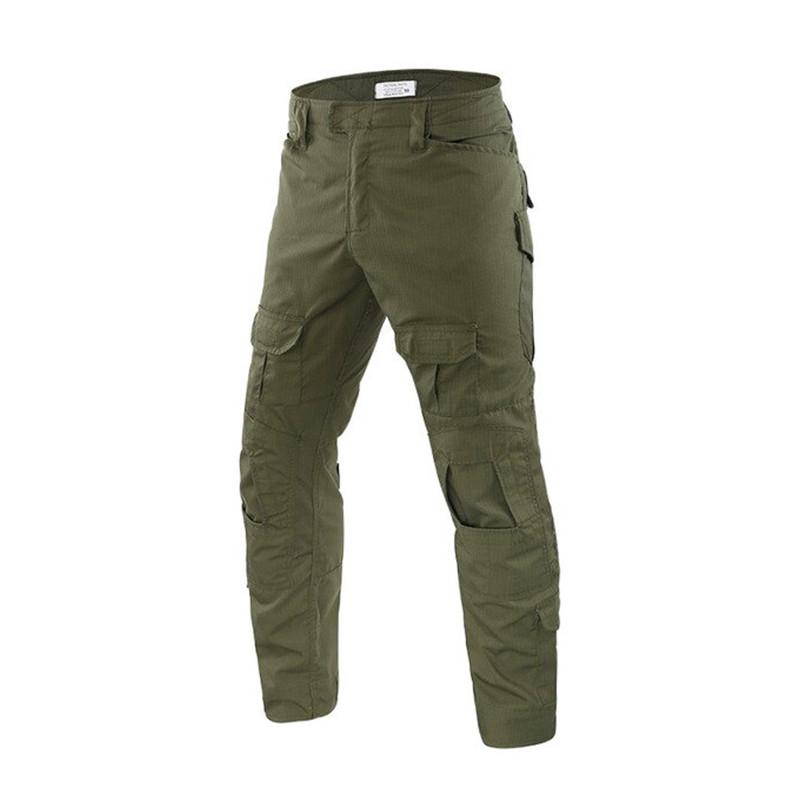 Тактичні штани Lesko B603 Green 40 розмір штани чоловічі мілітарі камуфляжні з кишенями