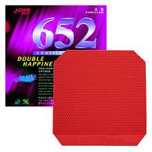 Накладка DHS 652 - Soft 2.2 мм Червоний