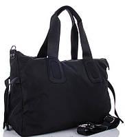 Жіноча тканинна сумка 0885 black Тканинні сумки недорого Текстильні сумки купити недорого