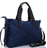 Жіноча тканинна сумка 0885 blue Тканинні сумки недорого Текстильні сумки купити недорого