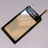Тачскрин / сенсор (сенсорное стекло) для Samsung S5230 (черный, белый, розовый, красный (Le Fleur) цвет)